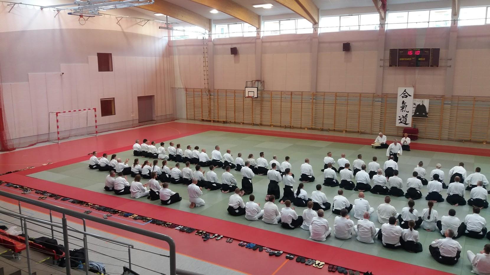 Staż Złotów, Inagaki Shihan 8 Dan Aikido Aikikai